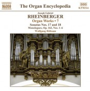 Wolfgang Rubsam: Rheinberger, J.G.: Organ Works, Vol.  7 - CD