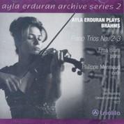 Ayla Erduran: Brahms: Piano Trios No: 2,3 (Arşiv Serisi 2) - CD