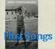 Maria Farantouri, Mikis Theodorakis: First Songs - CD