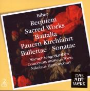 Nikolaus Harnoncourt: Biber: Requiem, Sacred Works, Battalia, Pauern Kirchfahrt - CD