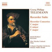 Telemann: Recorder Suite / Recorder Concertos - CD