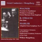 Wagner, R.: Overtures / Strauss, R.: Don Juan (Mengelberg) (1926-1940) - CD