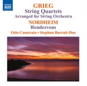Stephan Barratt-Due, Oslo Camerata: Grieg: String Quartets (arr. for string orchestra) - Nordheim: Rendezvous - CD
