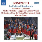 Marzio Conti: Donizetti: Figlia Del Reggimento (La) (The Daughter of the Regiment) - CD