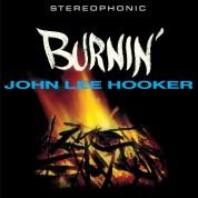 John Lee Hooker: Burnin' + 2 Bonus Tracks! Limited Edition In Transparent Yellow Colored Vinyl. - Plak