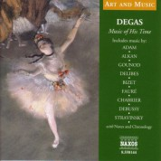 Çeşitli Sanatçılar: Art & Music: Degas - Music of His Time - CD