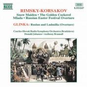 Rimsky-Korsakov: Snow Maiden / Glinka: Overture - CD