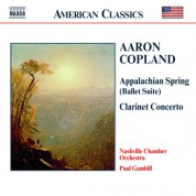Copland: Appalachian Spring / Clarinet Concerto / Quiet City - CD