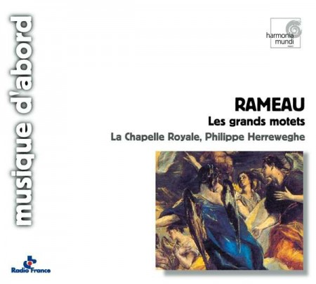 La Chapelle Royale, Philippe Herreweghe: Rameau: Great Motets - CD