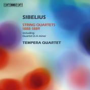 The Tempera Quartet: Sibelius: String Quartets 1888-1889 - CD