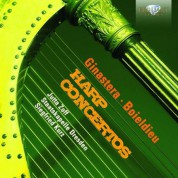 Jutta Zoff, Staatskapelle Dresden, Siegfried Kurz: Ginastera, Boieldieu: Harp Concertos - CD
