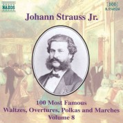 Strauss II: 100 Most Famous Works, Vol.  8 - CD