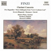 Finzi: Clarinet Concerto / Five Bagatelles / Three Soliloquies / Romance - CD