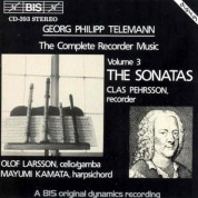Clas Pehrsson: Telemann - Complete Recorder Music, Vol.3 - CD