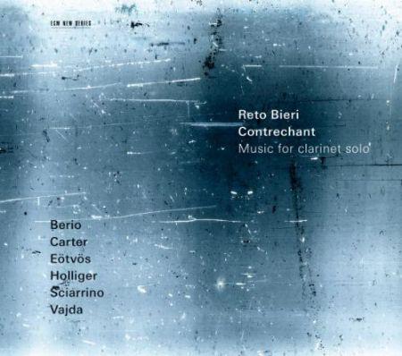 Reto Bieri: Contrechant - Music for clarinet solo - CD