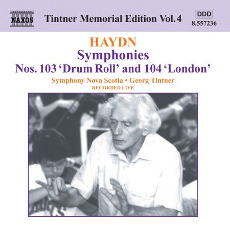 Haydn: Symphonies Nos. 103 and 104 - CD