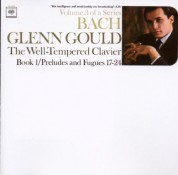 Glenn Gould: J.S. Bach: Well - Tempered Clavier Book 1 - CD
