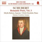 Sibylla Rubens: Schubert: Lied Edition 26 - Romantic Poets, Vol. 3 - CD