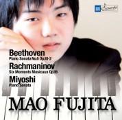 Mao Fujita: Beethoven - Rachmaninov - Miyoshi - CD