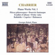 Chabrier: Piano Works, Vol. 1 - CD