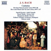 Bach, J.S.: Cantatas, Bwv 80 and 147 - CD