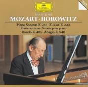 Vladimir Horowitz: Mozart: Piano Sonatas Kv 281, 330, 333 - CD