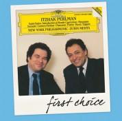 Itzhak Perlman, New York Philharmonic Orchestra, Zubin Mehta: Itzhak Perlman - Sarasate, Ravel, Saint-Saëns Etc. - CD