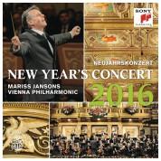 Vienna Philharmonic Orchestra, Mariss Jansons: New Year's Concert / Neujahrskonzert / 2016 - CD