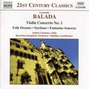 Balada: Violin Concerto No. 1 / Folk Dreams / Sardana - CD