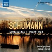 Gerard Schwarz: Schumann: Symphonies Nos. 3 and 4 - CD