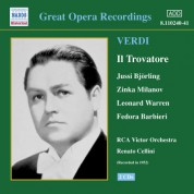Verdi: Trovatore (Il) (Bjorling, Milanov, Cellini) (1952) - CD