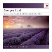 Leonard Bernstein, New York Philharmonic Orchestra: Bizet: Carmen Suites / L'Arlesienne Suites - CD