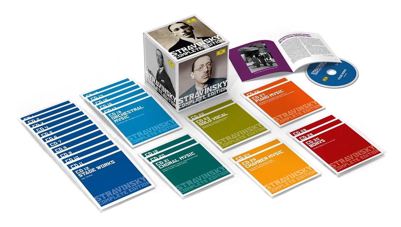 Eitli Sanatlar Stravinsky Complete Edition Cd Opus3a