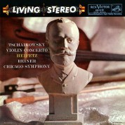Jascha Heifetz, Chicago Symphony Orchestra, Fritz Reiner: Tchaikovsky: Violin Concerto - Plak