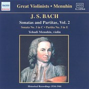 Bach, J.S.: Sonatas and Partitas (Menuhin) (1934-1944) - CD