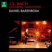 Daniel Barenboim: J.S. Bach: Goldberg Variations - CD