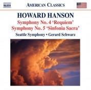 Gerard Schwarz: Hanson: Symphonies Nos. 4 & 5 - CD