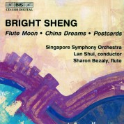 Sharon Bezaly, Singapore Symphony Orchestra, Lan Shui: Bright Sheng: Flute Moon, China Dreams, Postcards - CD