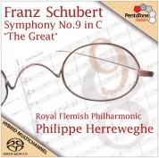 Philippe Herreweghe, Royal Flemish Philharmonic: Schubert: Symphony No. 9 in C ''The Great'' - SACD