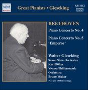Walter Gieseking: Gieseking - Concerto Recordings, Vol. 3 - CD