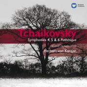 Herbert von Karajan, Berliner Philharmoniker: Tchaikovsky: Symphony nos.4-6 - CD
