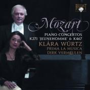 Klára Würtz, Prima La Musica, Dirk Vermeulen: Mozart: Piano Concertos 9 & 21 - CD