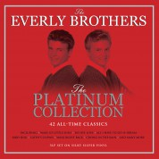 The Everly Brothers: Platinum Collection Silver Vinly - Plak