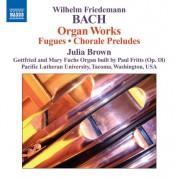 Julia Brown: Bach: Organ Works - CD