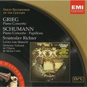 Sviatoslav Richter, Orchestre National de l'Opera de Monte-Carlo, Lovro von Matacic: Grieg: Piano Concerto, Schumann: Piano Concerto, Papillons - CD
