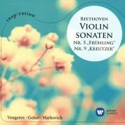 Maxim Vengerov, Itamar Golan, Alexander Markovich: Beethoven: Violin Sonatas No. 5, 9 - CD