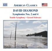 Diamond: Symphonies Nos. 2 and 4 - CD