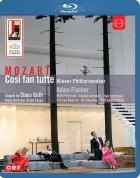 Vienna Philharmonic Orchestra, Adam Fischer: Mozart: Così fan tutte - BluRay
