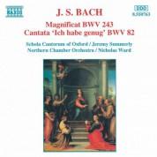 Bach, J.S.: Magnificat in D Major, Bwv 243 / Ich Habe Genug, Bwv 82 - CD