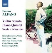 Elmira Darvarova: Alfano: Violin Sonata - Piano Quintet - CD